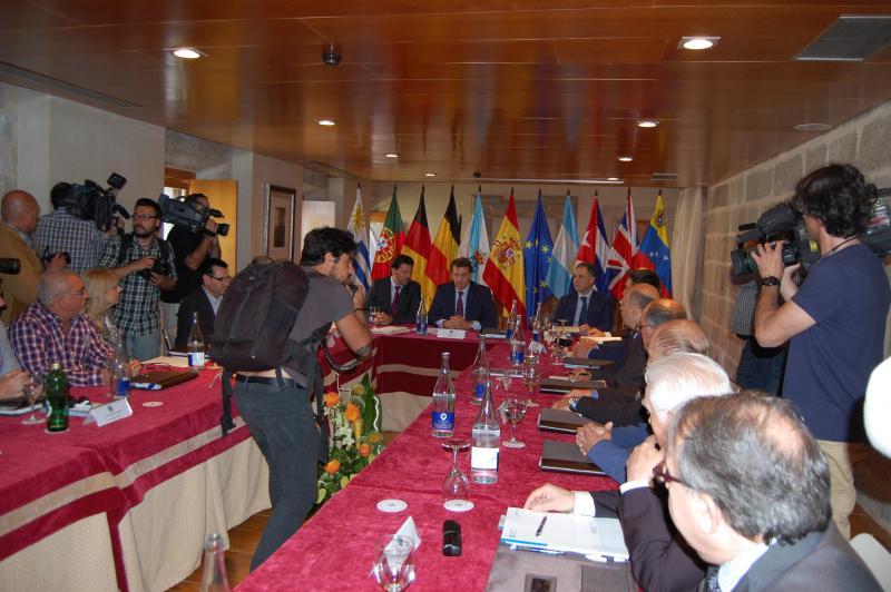 Imaxe da segunda sesión da reunión da Comisión Delegada do CCG celebrada o pasado venres 29 de maio