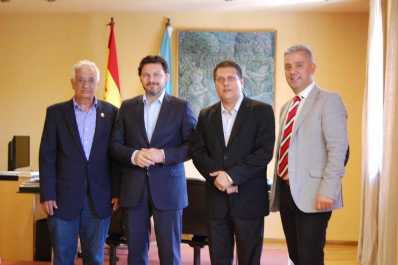 De esquerda a dereita: Ventim, Miranda, Coelho e García