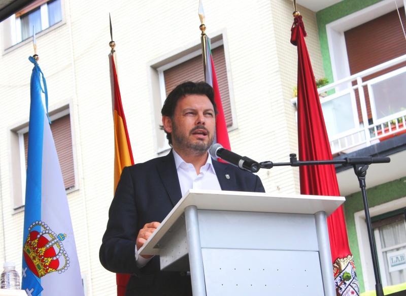 A 30ª edición do Día de Galicia que organiza a Irmandade de Centros Galegos en Euskadi celebrouse en Ermua