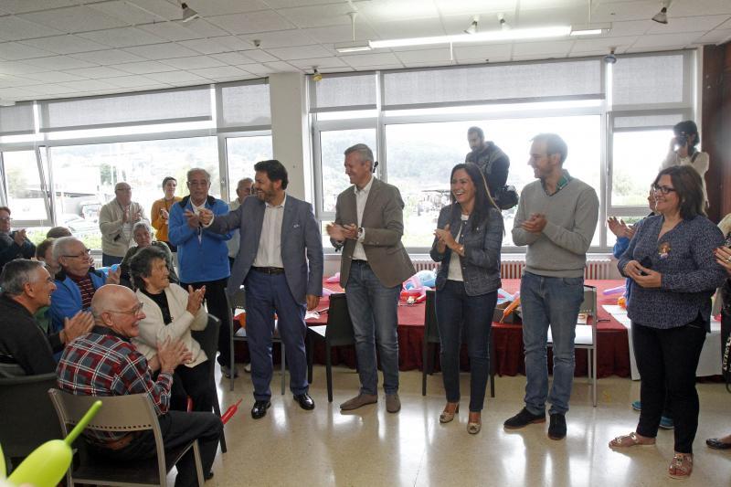 Imagen de esta mañan en la Residencia de Tiempo Libre de Panxón, en el municipio pontevedrés de Nigrán