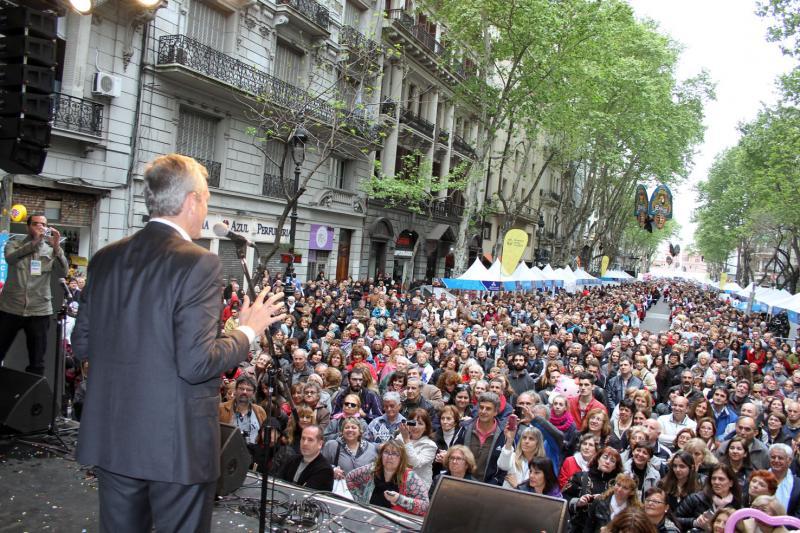 O vicepresidente da Xunta de Galicia, durante a súa alocución