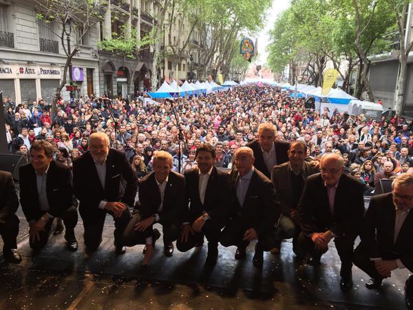 Autoridades galegas, españolas e arxentinas tamén participaron desta gran festa da cultura galega