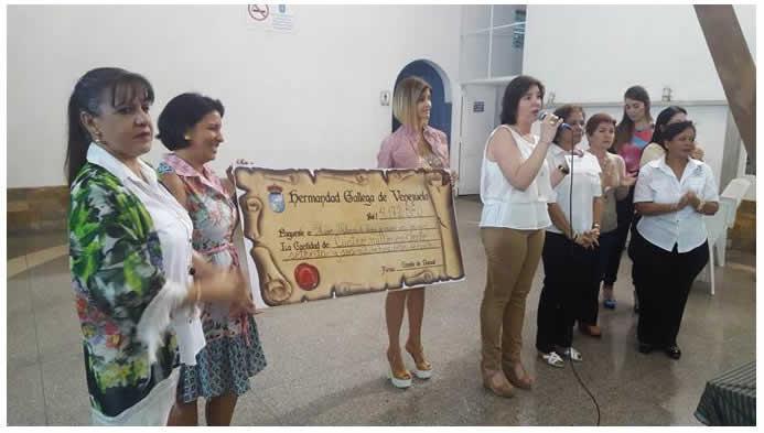 O Comité de Damas da HGV organizou diversos actos de recadacion de fondos para esta causa solidaria