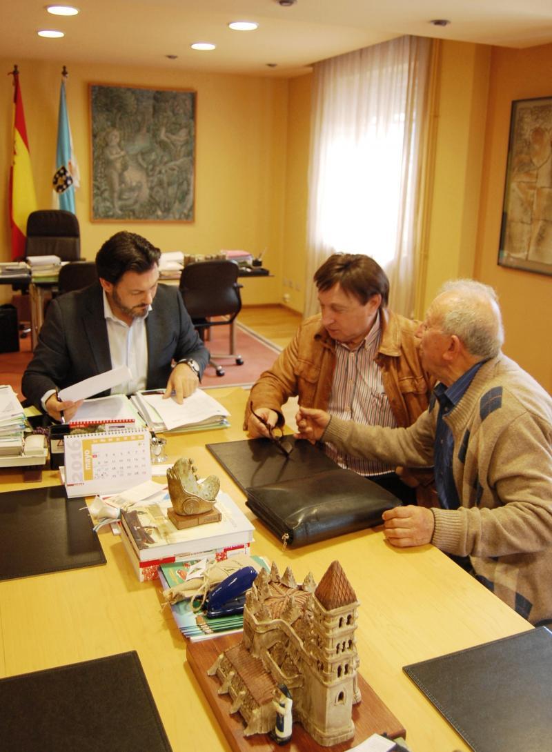 Imagen de la reunión celebrada en Compostela