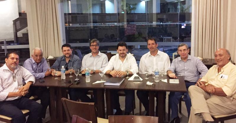 El secretario xeral da Emigración de la Xunta de Galicia mantuvo una reunión con representantes de las asociaciones vinculadas a la galleguidad en Salvador de Bahía