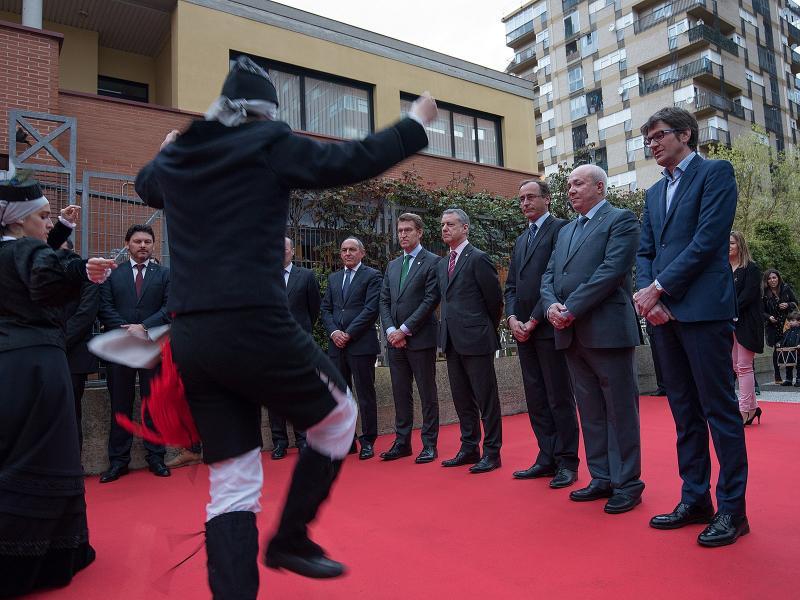 O titular da Xunta participou no acto de celebración do 60 aniversario da fundación do Centro Galego en Álava