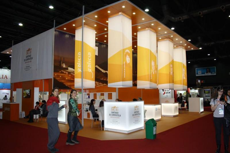 Stand de Galicia en la 42ª Feria Internacional del Libro de Buenos Aires