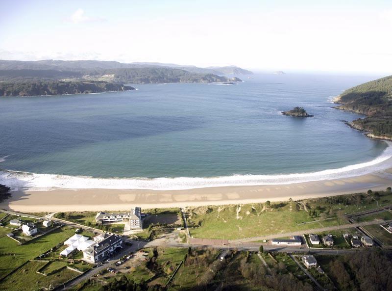 Na foto, a paisaxe no Albergue Xuvenil de Area, en Viveiro (Lugo)