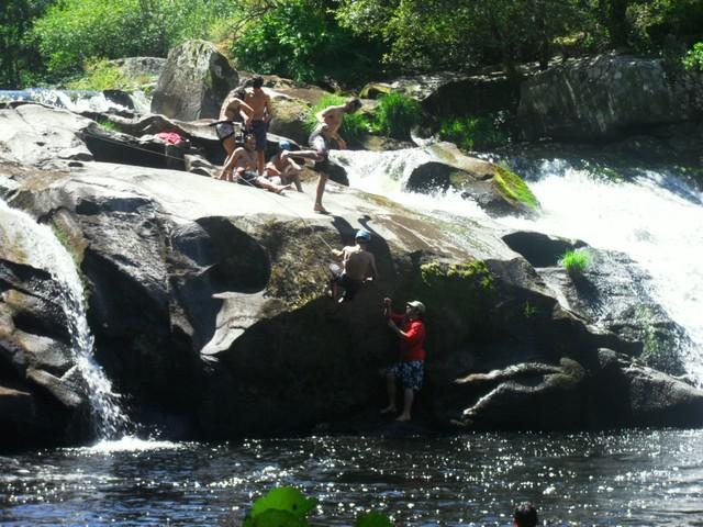 Imaxe dunha das actividades que se desenvolven no campamento de Os Chacotes (Palas de Rei - Lugo)