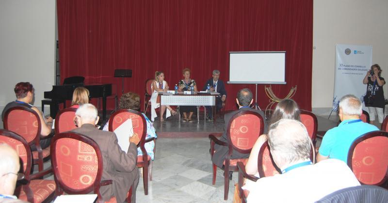 Imaxe do relatorio de 'Galeguidade' do XI Consello das Comunidades Galegas, celebrado na Habana o 27 e 28 de maio
