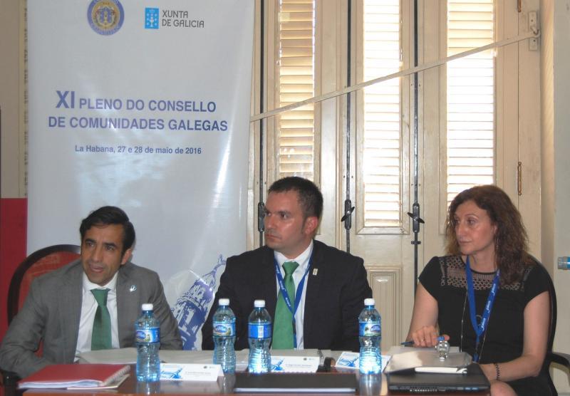 José Manuel Rey Varela, conselleiro de Política Social da Xunta de Galicia, foi o encargado do relatorio
