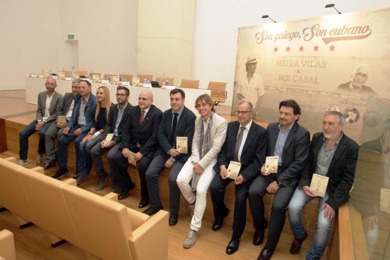 A estrea deste traballo desenvolvérase cun concerto na Habana, onde clausurou o XI Consello de Comunidades Galegas