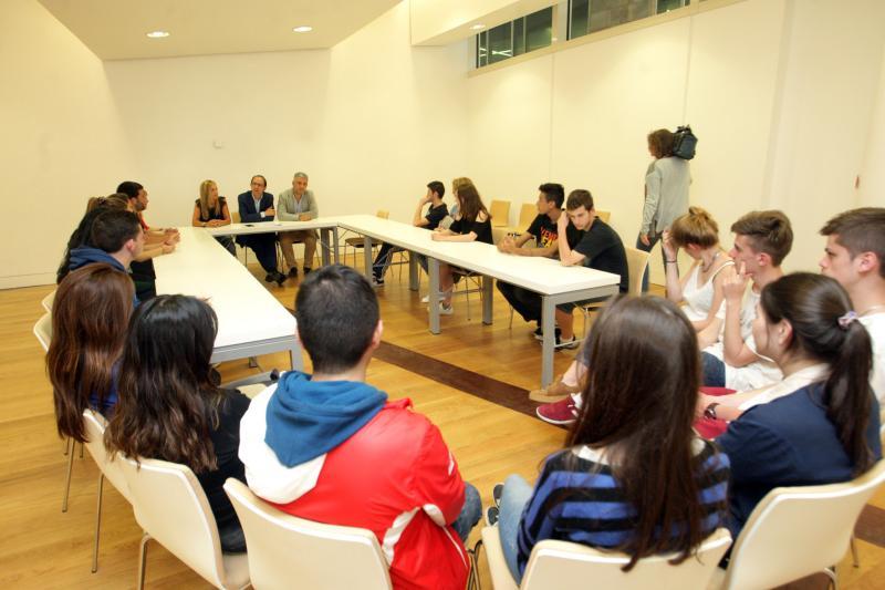 Imaxe do acto celebrado hoxe na Cidade da Cultura de Galicia