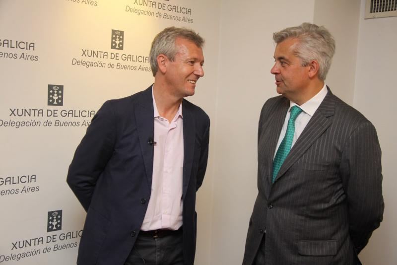 Rueda visita a Delegación da Xunta en Bos Aires