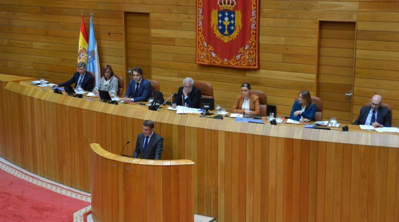 O Presidente da Xunta lembrou aos galegos e galegas do Exterior no seu discurso de investidura no Parlamento de Galicia