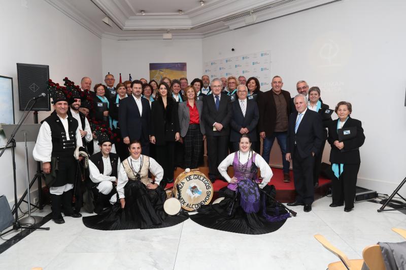 Imagen de la Vª Navidad Gallega celebrada en la Casa de Galicia en Madrid