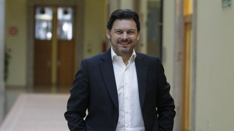 Antonio Rodríguez Miranda, secretario xeral da Emigración da Xunta de Galicia. Foto: Xoán A. Soler