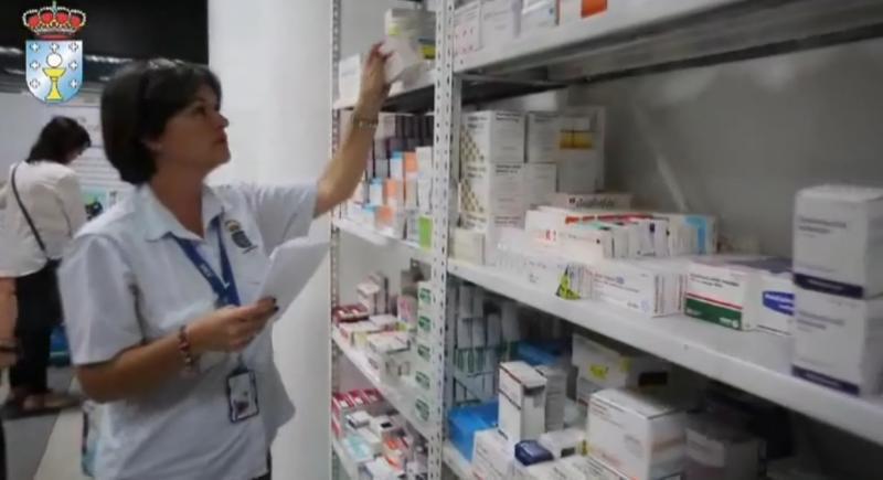 A Hermandad Gallega de Venezuela en Caracas é a entidade encargada de xestionar a distribución dos medicamentos e material sanitario