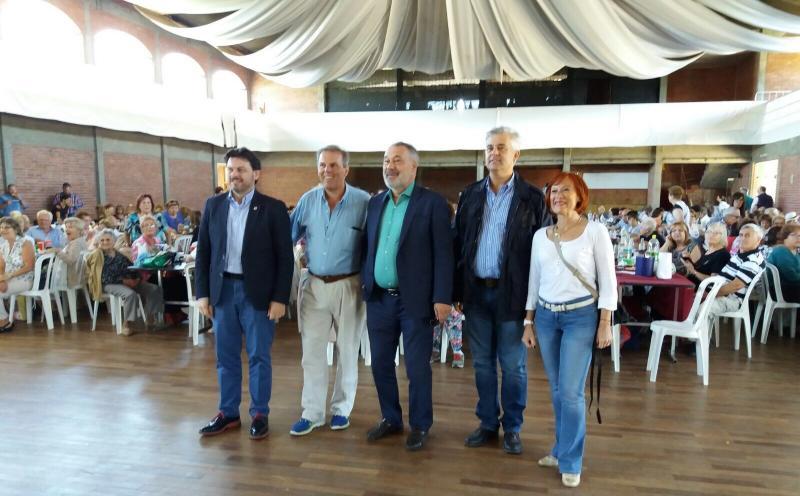 Miranda asistiu á Romaría do Centro Galego de Montevideo, o máis antigo do mundo en funcionamento