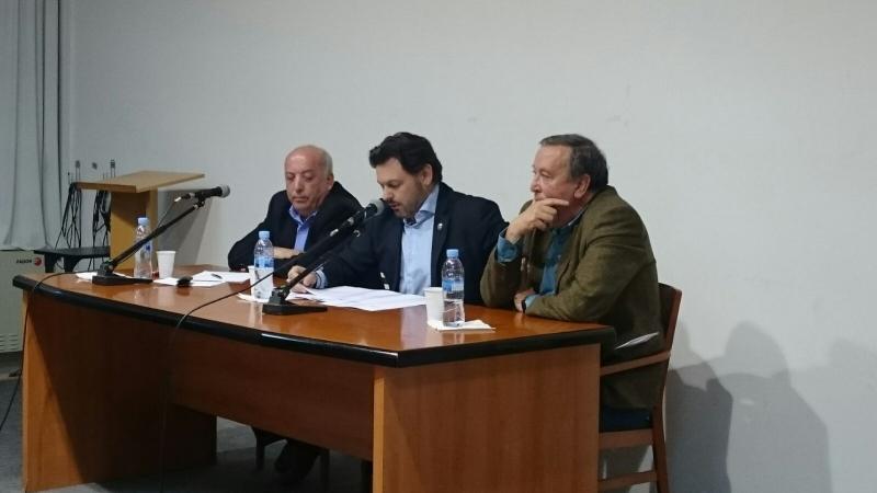 Miranda pronunció la conferencia 'Galicia: tradición, camino hacia modernidad'