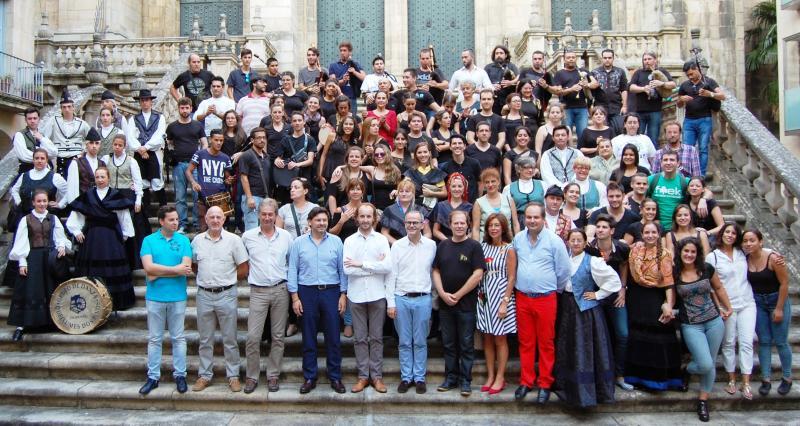 Imaxe de arquivo da clausura da edición de 2016, na Praza de San Martiño de Ourense