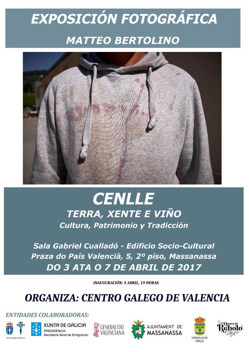 Cartel de 'Cenlle: Terra-Xente-Viño. Cultura, patrimonio e tradición'