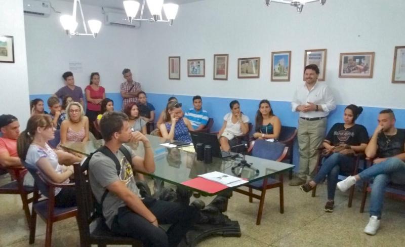 A mocidade galego-cubana amósase tamén interesada nas 'Bolsas Excelencia'