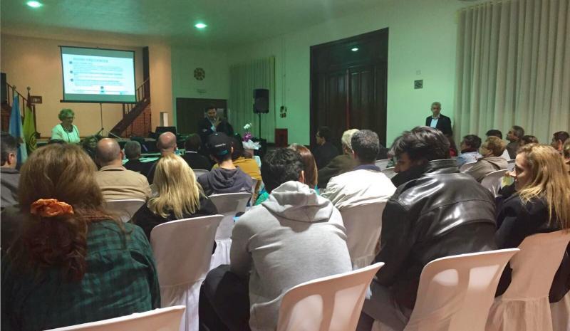 Antonio Rodríguez Miranda tamén presentou as Bolsas 'Bolsas Excelencia Mocidade Exterior' en Sâo Paulo