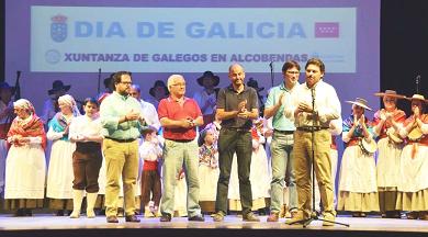 Imaxe de arquivo da celebración do Día de Galicia en Alcobendas, organizada pola entidade galega na localidade madrileña