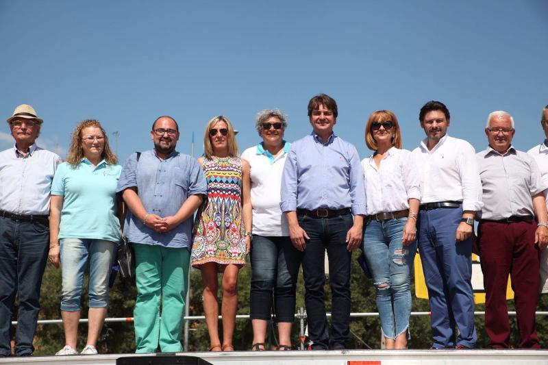 Arredor de medio millar de persoas participan na XI Romaría Galega que coordina a Federación de Asociacións Galegas en Madrid