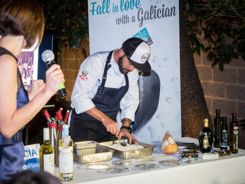 Estes días, a través do 'Galician Cinema & Food Festival', estase dando a coñecer a nosa cultura e gastronomía na cidade máis influínte do mundo