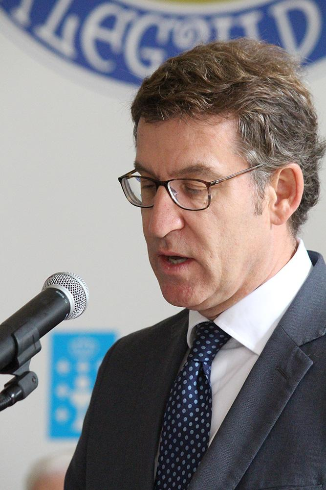 O presidente da Xunta participou na gala de entrega dos Títulos de Excelencia Galega outorgados pola Asociación de Empresarios Galegos en Cataluña