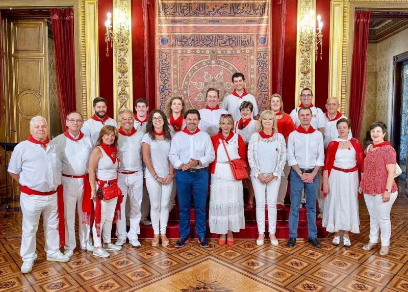 Miranda participou na homenaxe do Goberno Foral ás comunidades do resto de España presentes en Navarra