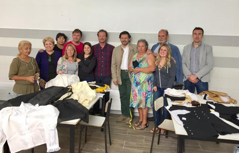 """Miranda trasladou ás e aos participantes o seu agradecemento """"e o de todo o pobo galego"""" polo seu labor no reforzo e expansión da cultura galega"""