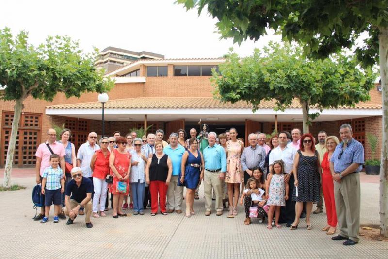Homenaje al Apóstol y almuerzo de hermanamiento centraron los actos del Día de Galicia organizado por el Centro Galego de Castellón 'O Aturuxo'