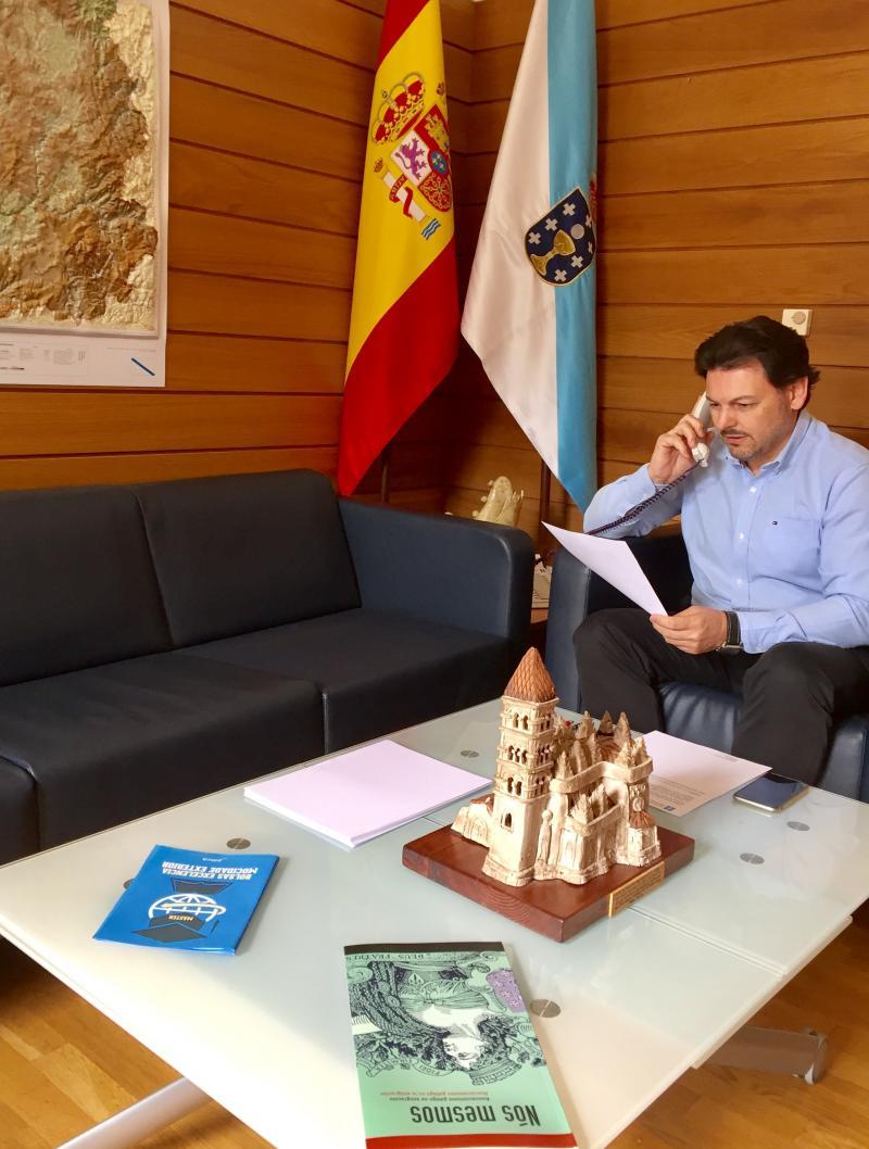 O secretario xeral da Emigración, nunha foto de arquivo