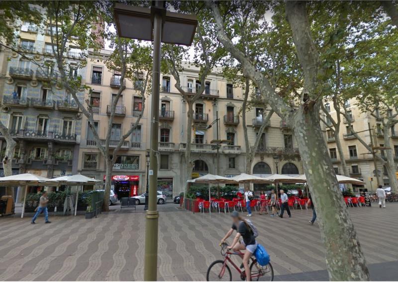 Centro Galego de Barcelona (Fonte: Google Maps)
