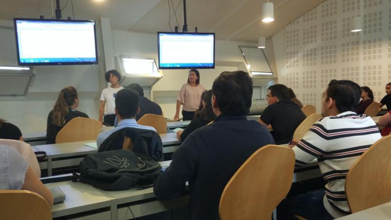 A xornada desenvolveuse no Edificio Miralles da Universidade de Vigo