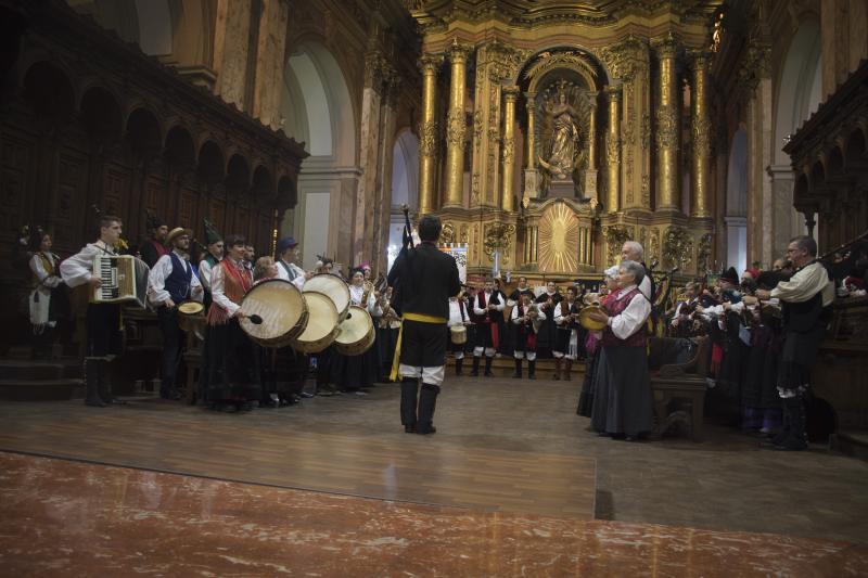 Misa celebrada na catedral metropolitana de Bos Aires