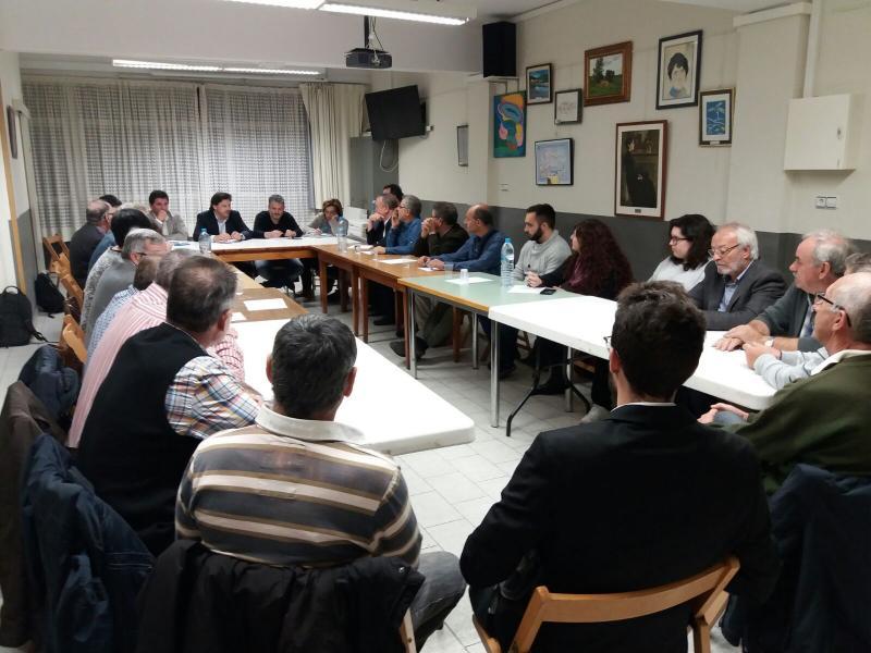 Imagen de la reunión celebrada en Cornellà de Llobregat (Barcelona)