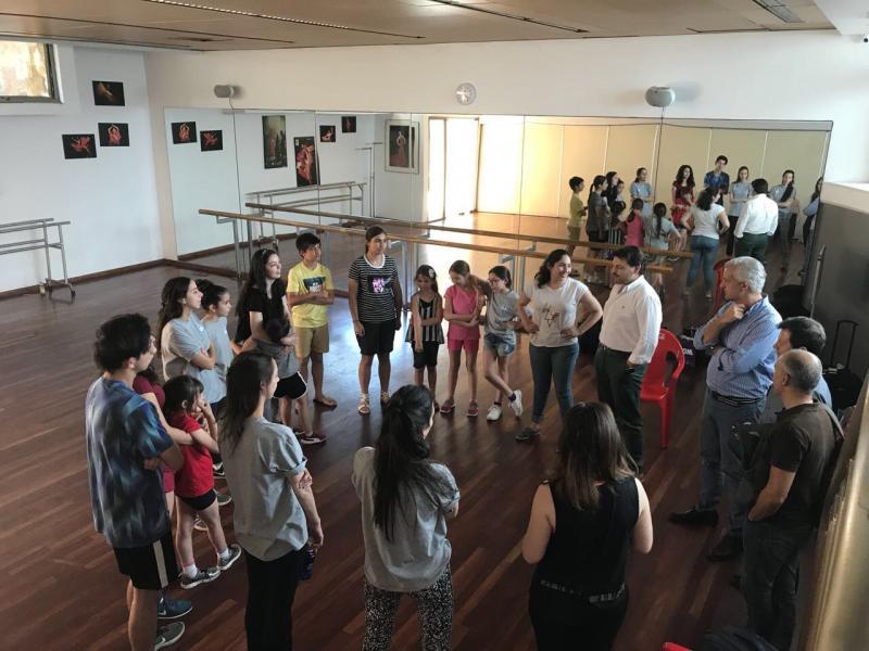El secretario xeral da Emigración asistió a la celebración del 50º aniversario del Lar Gallego de Chile