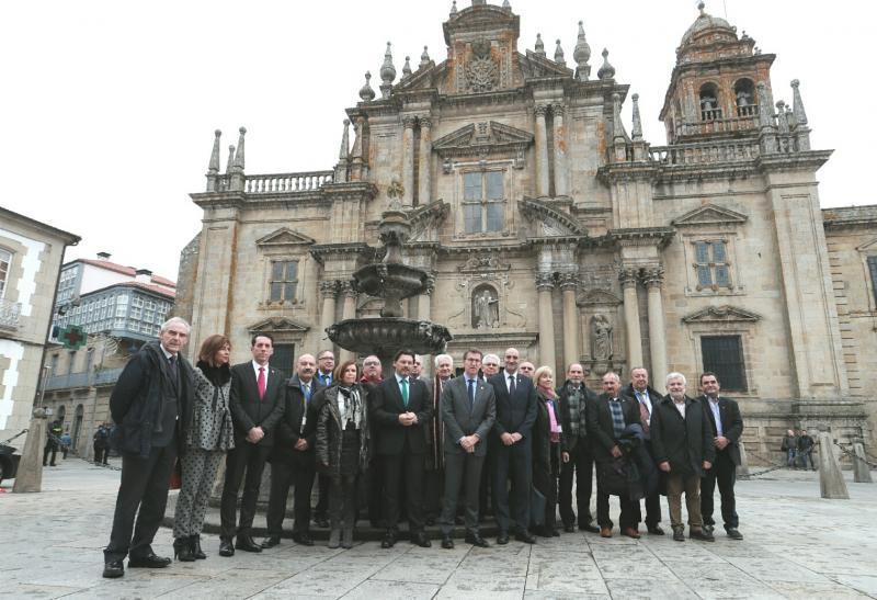 O presidente da Xunta clausurou este mediodía a Comisión Delegada do XI Pleno do Consello de Comunidades Galegas