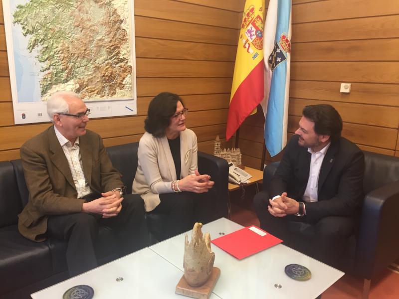 Imaxe da reunión celebrada en Santiago de Compostela
