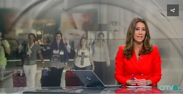 Telexornal Mediodía de la Televisión de Galicia