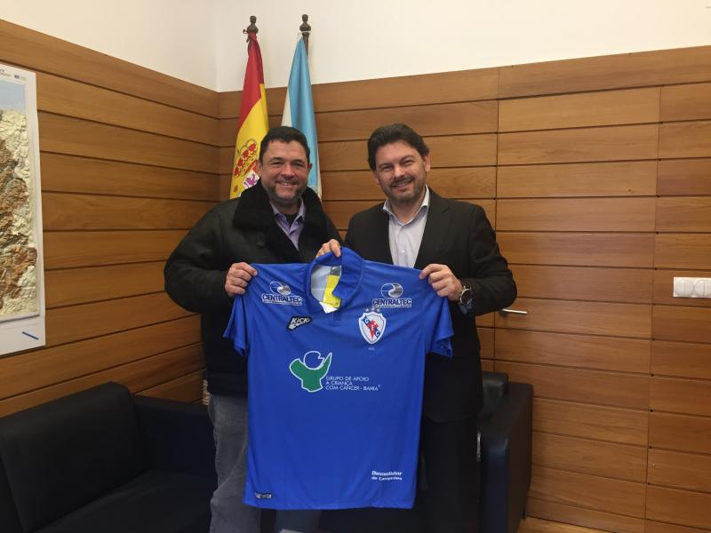 El secretario xeral da Emigración se reunió con el presidente de la entidad, cuyo primer equipo aspira a volver a liderar el Campeonato Baiano de fútbol