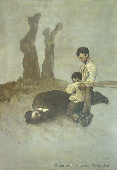 'A derradeira leición do mestre' (1945)