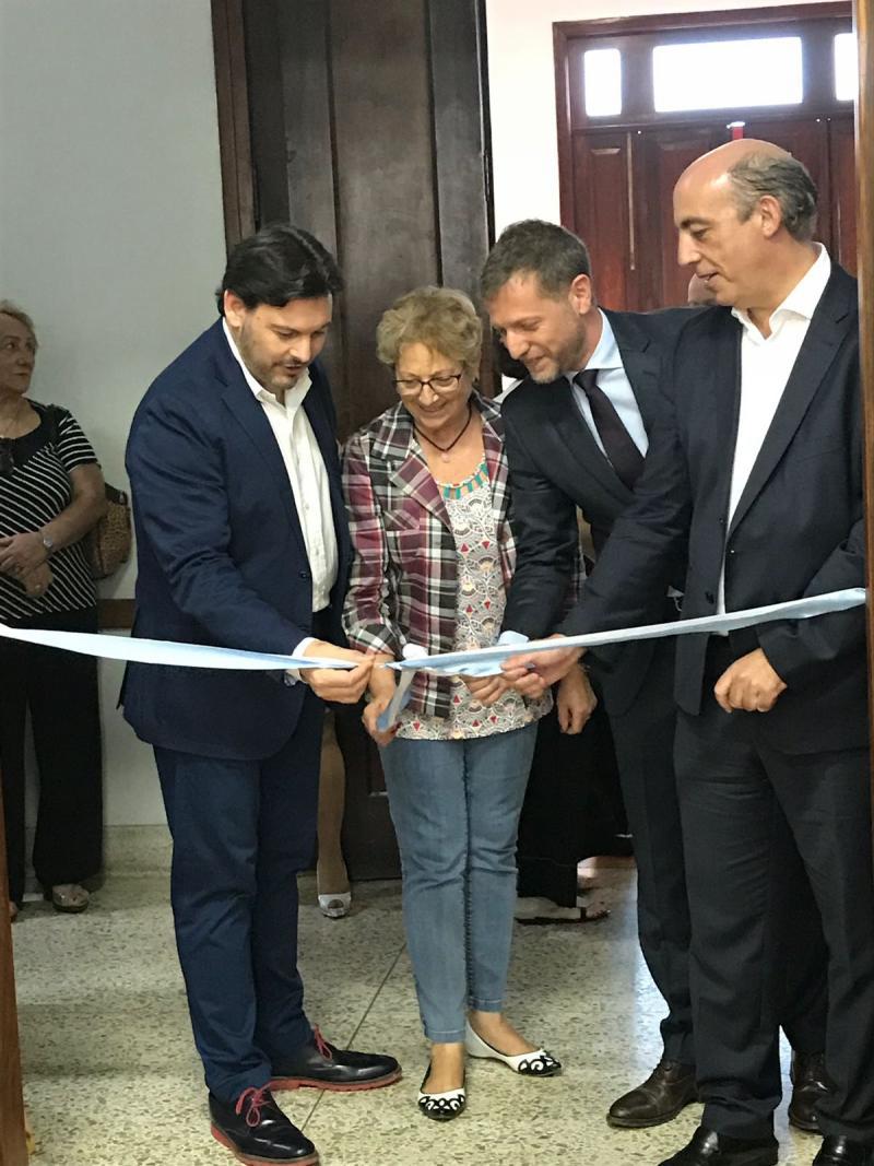 """Imaxe da inauguración de """"Paisaxes de Galicia"""""""