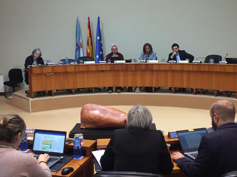 O secretario xeral da Emigración compareceu no Parlamento galego para expoñer a situación actual da emblemática entidade arxentina