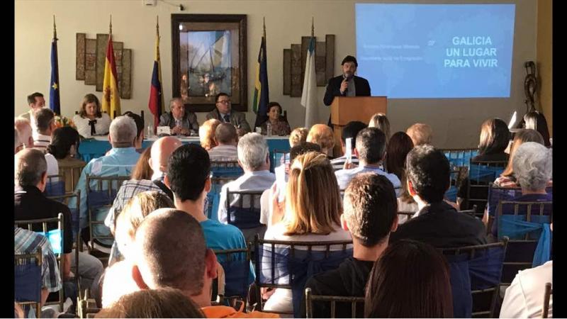 Miranda acerca información sobre los programas de retorno a cerca de 1.500 gallegos de Venezuela
