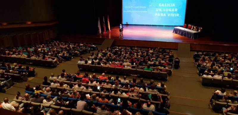 Miranda reforza a organización social dos galegos en Venezuela coa sinatura de catro protocolos que garanten a súa atención e asesoramento